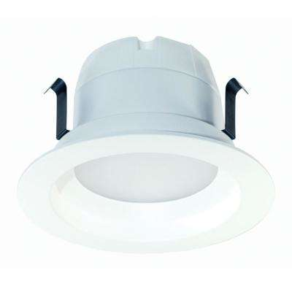 50-Watt Equivalent 10-Watt 4 in. Dimmable CEC JA8 White Integrated LED Recessed Retrofit DownLight Trim Soft White 99634