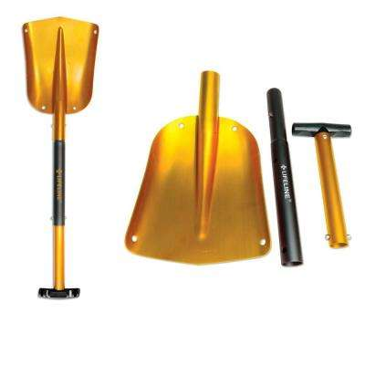 25 in. to 32 in. Adjustable Gold Aluminum Emergency Sport Utility Shovel (2-Pack)