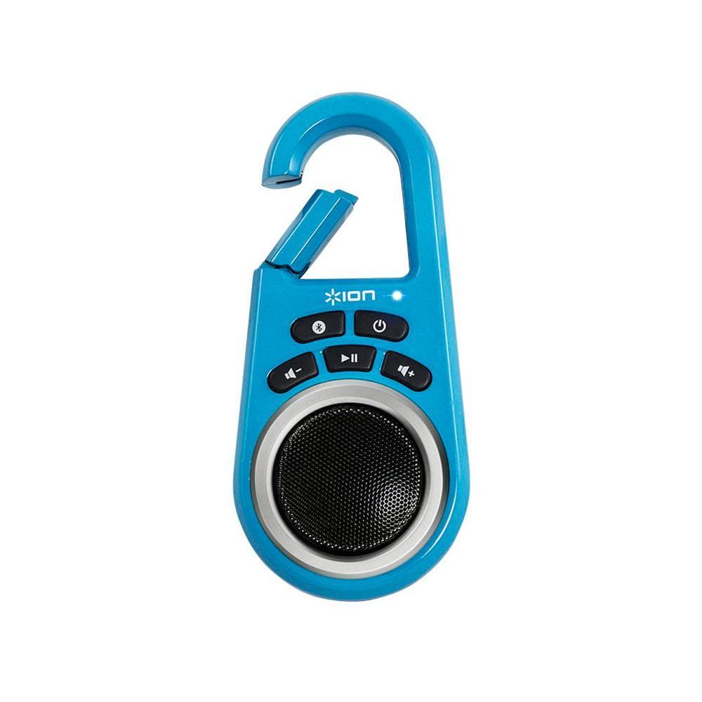 Ion 10-Watt Wireless Bluetooth Speaker with Built-in Clip - Blue