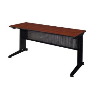 Pendulum 72 in. W x 24 in. D Cherry Training Table
