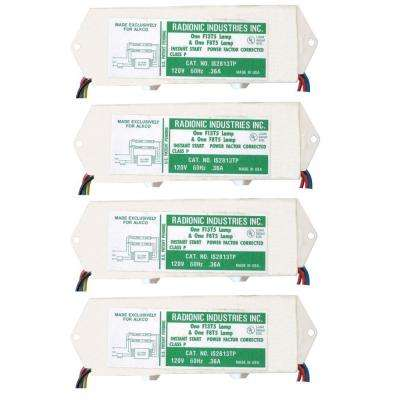8 and 13-Watt T5 1-Lamp Normal Power Factor Magnetic Ballast (4-Pack)