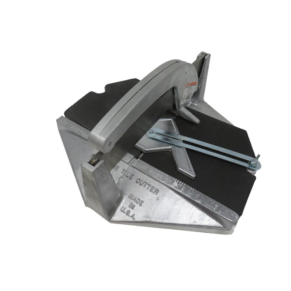 Medium Tile Cutter 12 in. x 12 in. with #400 Carbide