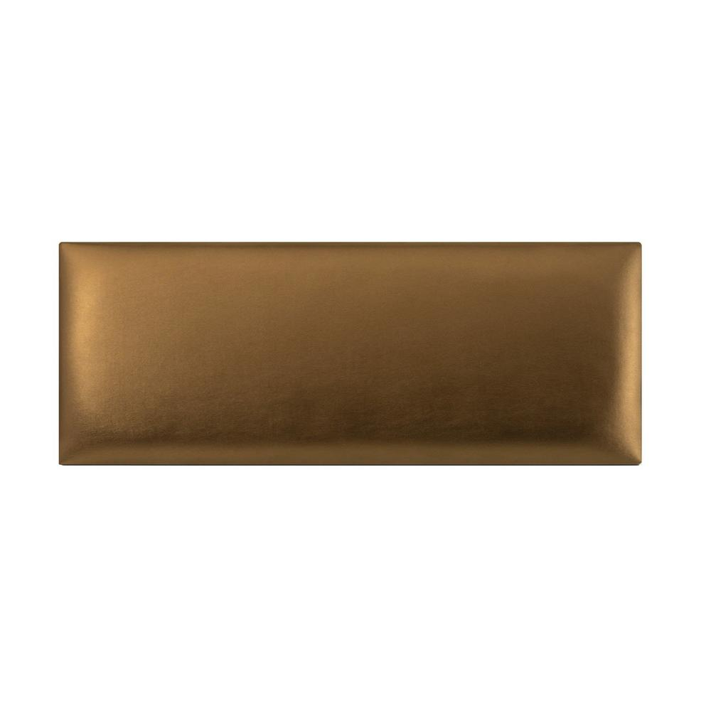 Vant Metallic Gold Twin King Upholstered Headboards Accent Wall Panels Mgl394 The Home Depot