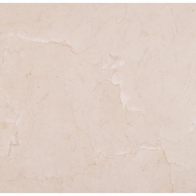 Crema Marfil 18 in. x 18 in. Polished Marble Floor and Wall Tile (9 sq. ft. / case)