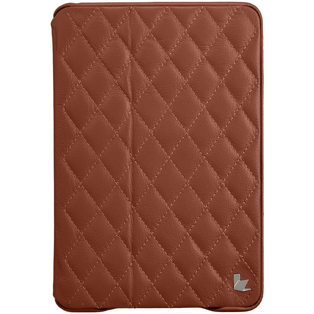 outlet store 355cb 77177 Jisoncase Quilted Smart Cover Case - Brown