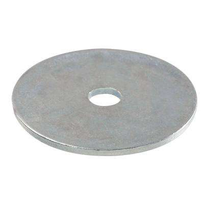 3/16 in. x 1-1/4 in. Zinc-Plated Fender Washer (100-Piece per Box)