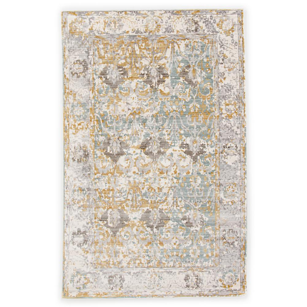 Vintage Home Rug: Jaipur Rugs Machine Made Antique White 5 Ft. X 8 Ft