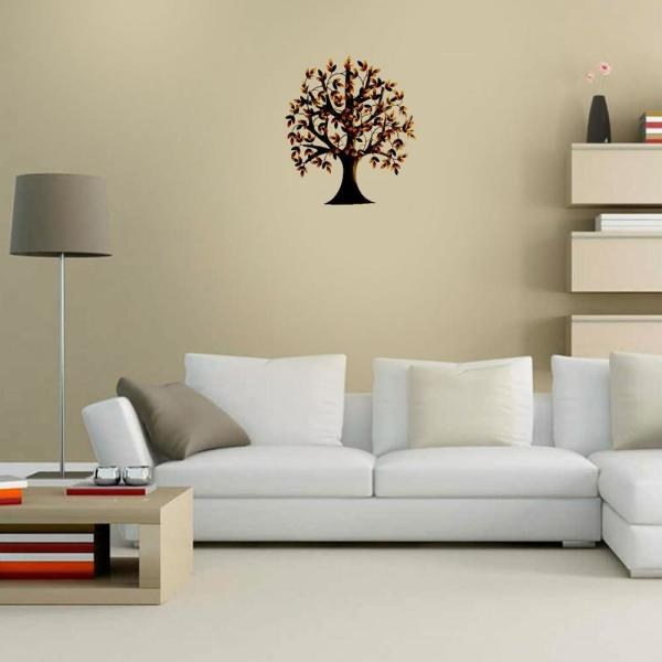 Benzara Metal Tree Wall Decor For Elite Cl Enthusiasts