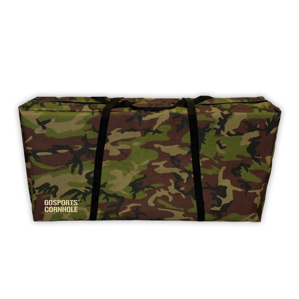 Regulation Size 4 ft. x 2 ft. Premium Camo Design Cornhole Carrying Case