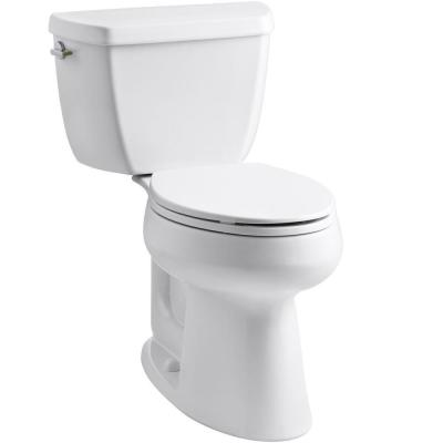 Highline Complete Solution 2-Piece 1.1 or 1.6 GPF Dual Flush Elongated Toilet in White, Seat Included