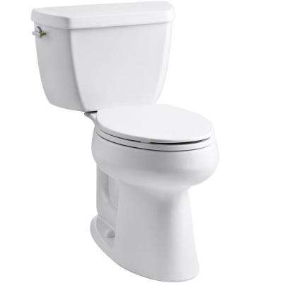 Highline Complete Solution 2-piece 1.1 or 1.6 GPF Dual Flush Elongated Toilet in White