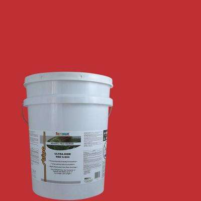 5 gal. Red Stripe Bulk Athletic Field Marking Paint
