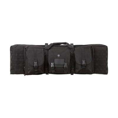 42 in. Patrol Double Rifle Case in Black