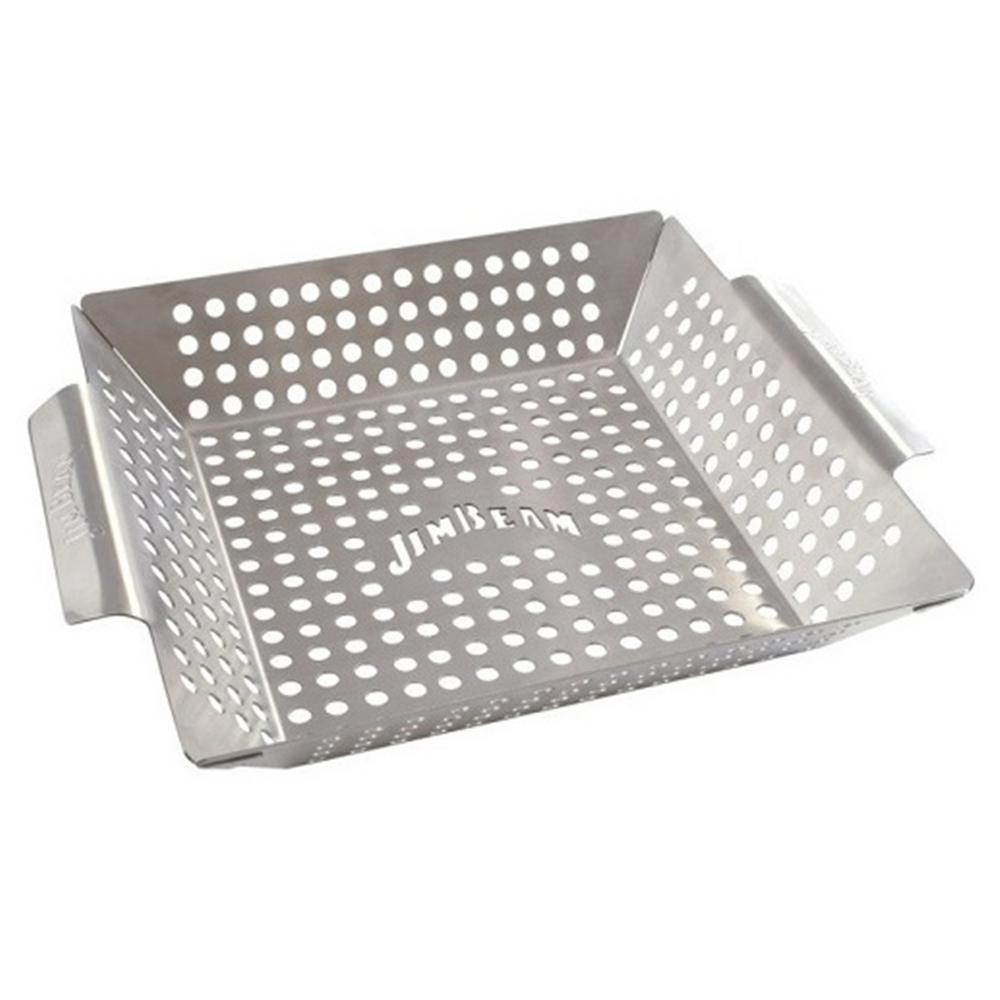 Stainless Steel Heavy Duty Grilling Wok