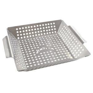 Click here to buy Jim Beam Stainless Steel Heavy Duty Grilling Wok by Jim Beam.