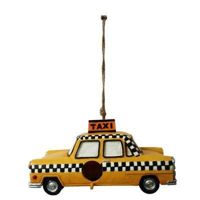 Hanging Taxi Bird House Decor