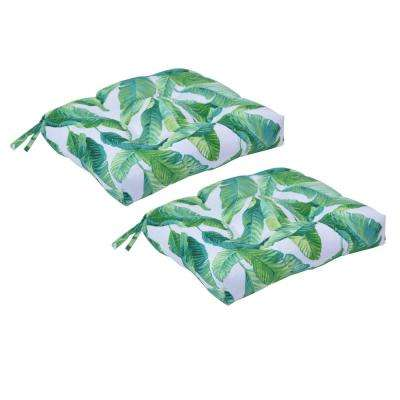 Hanalei Square Tufted Outdoor Seat Cushion (2-Pack)