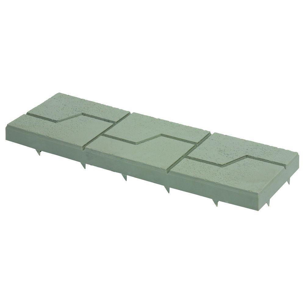 Keyway 8 in. x 24 in. Plastic Resin Driveway Pavers (5-Pack)