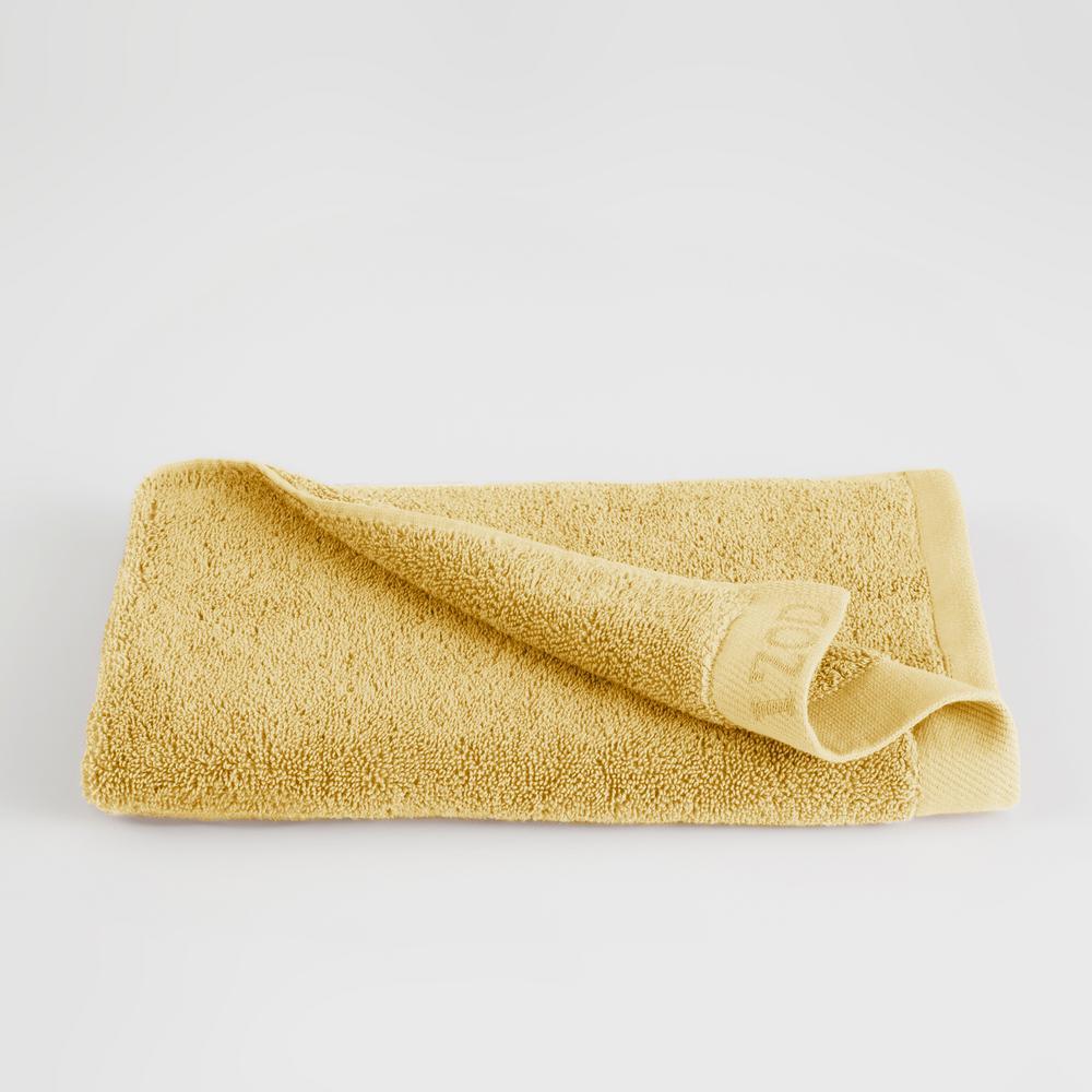IZOD Classic Egyptian Cotton Hand Towel in Lemon 079465022339