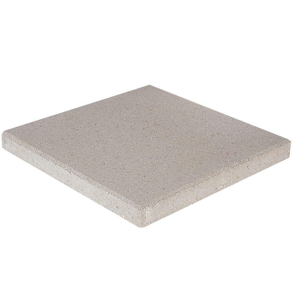 16 in. x 16 in. x 1.75 in. Limestone Square Concrete