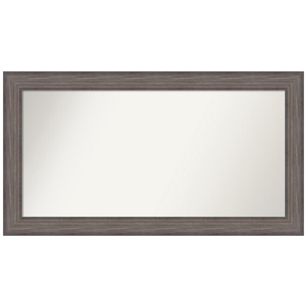 Amanti Art Choose Your Custom Size 46.25 in. x 25.25 in. Country Barnwood Decorative Wall Mirror was $509.95 now $244.77 (52.0% off)