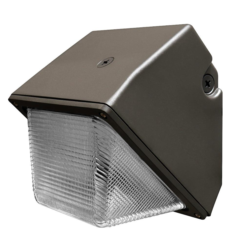 Commercial Grade 30-Watt 8.5 in. Bronze Outdoor Integrated LED Security Wall
