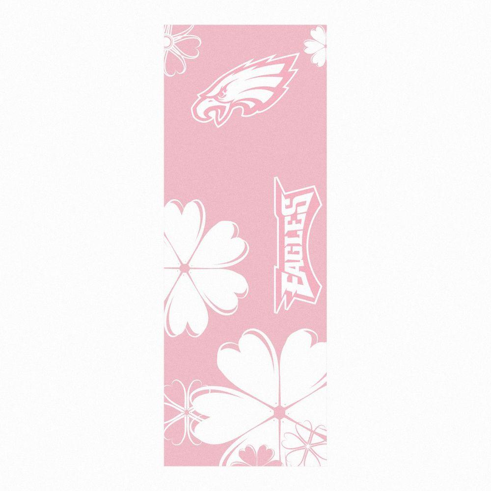 FANMATS Philadelphia Eagles 24 in. x 67.5 in. Yoga Mat-DISCONTINUED