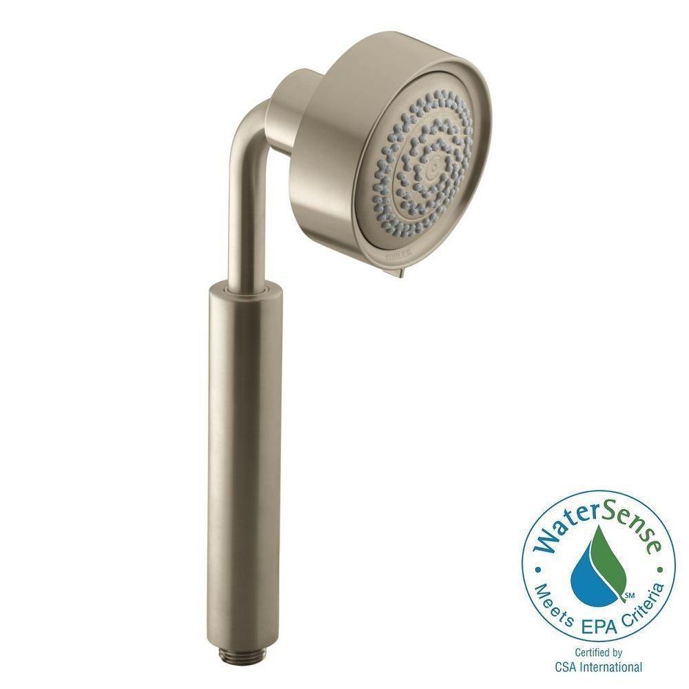 3-spray Multifunction Purist Handshower in Vibrant Brushed Nickel