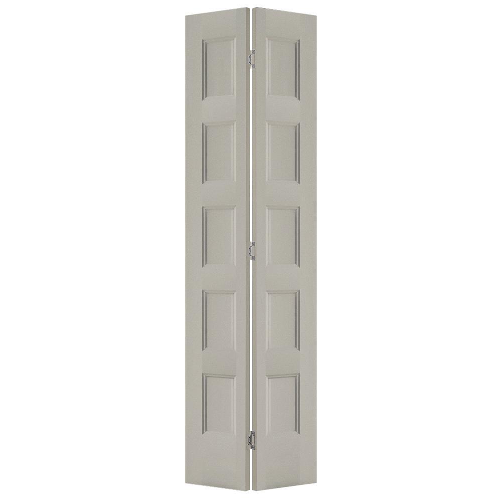 Jeld Wen 24 In X 80 In Conmore Desert Sand Paint Smooth Hollow Core Molded Composite Interior Closet Bi Fold Door