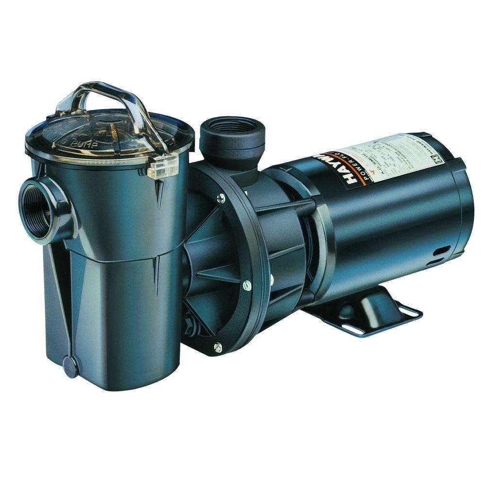 Hayward Power Flo 1 Hp 115 Volt Pool Pump With Cord Sp1580