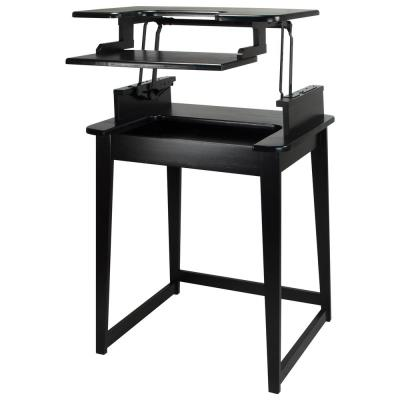 Freestyle Black Stand-Up Desk