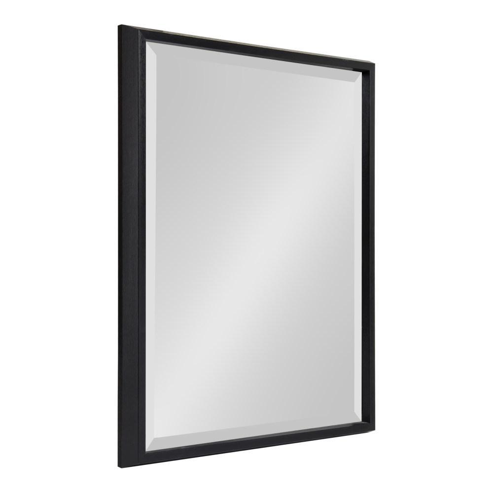 Kate and Laurel Blake Rectangle Black Wall Mirror 214053