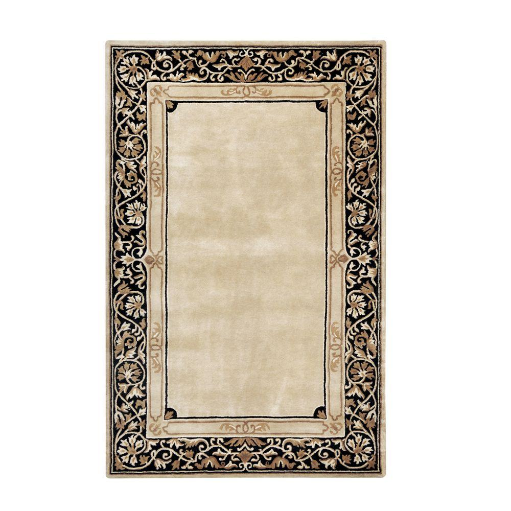 Home Decorators Collection Churchill Beige 9 ft. 6 in. x 13 ft. 9 in. Area Rug