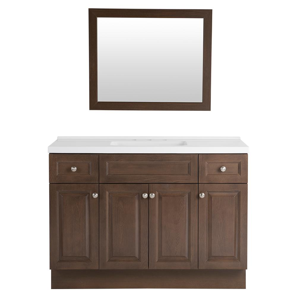 Home Decorators Collection Rosecrest 48 5 In W Vanity In