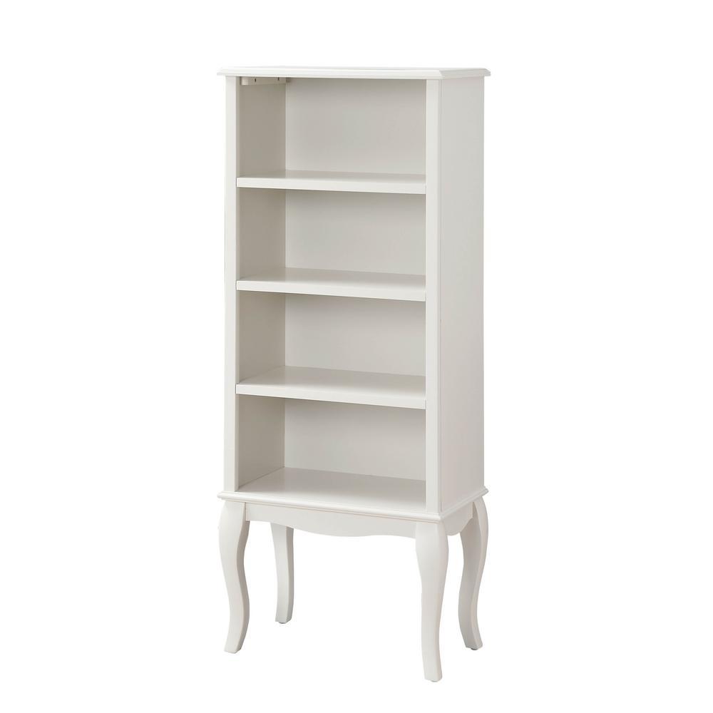 Polar White Verona Bookcase