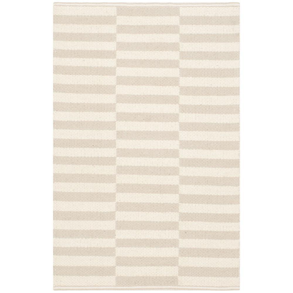 Montauk Ivory/Light Gray 4 ft. x 6 ft. Area Rug