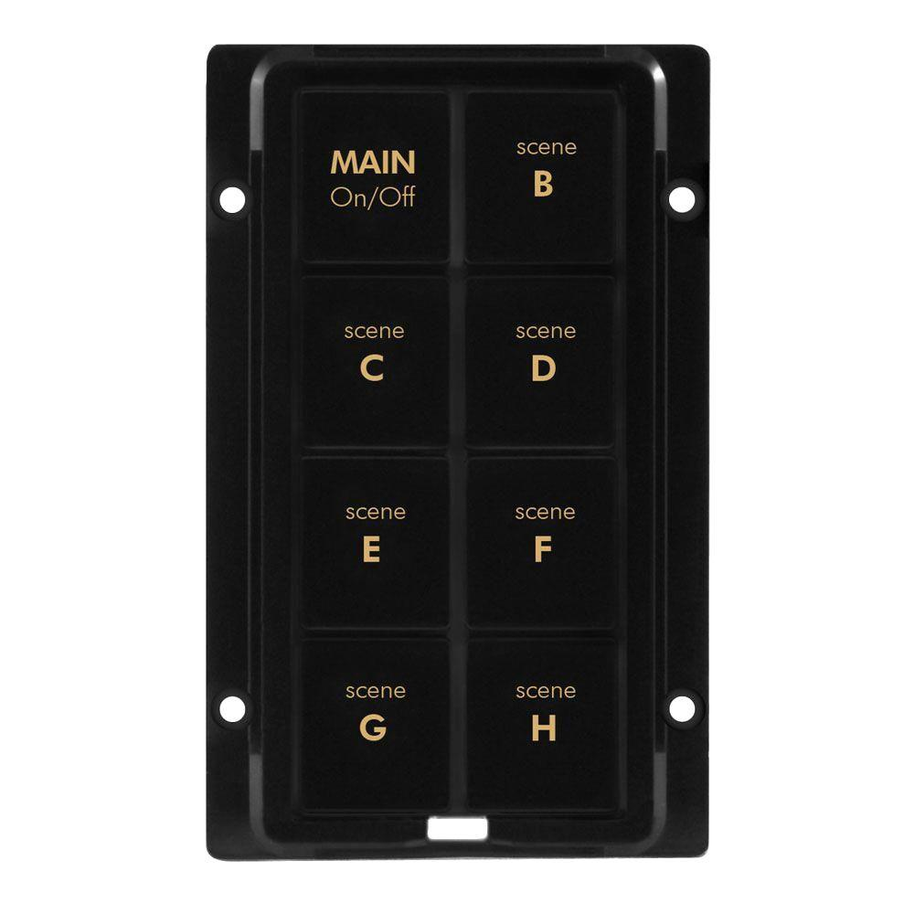 Insteon 8 Button Change Kit - Black