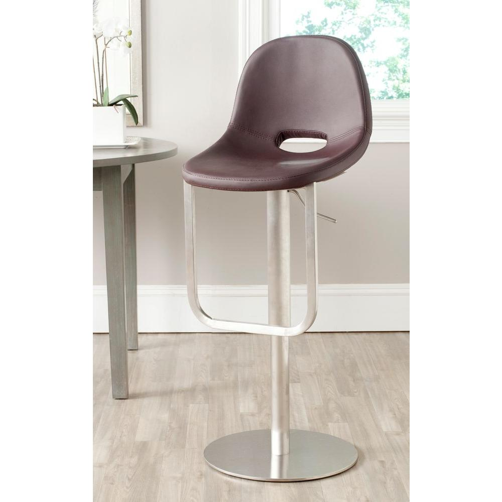 Safavieh Andrina Adjustable Height Stainless Steel Swivel...
