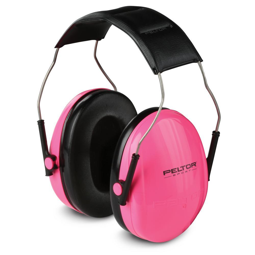 Peltor Sport Small Pink Earmuffs (Case of 6)