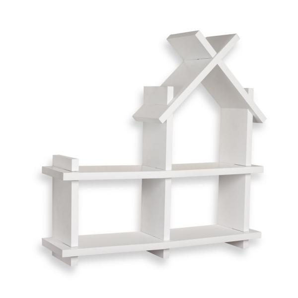 DANYA B 24 in. x 24 in. White House Design Floating