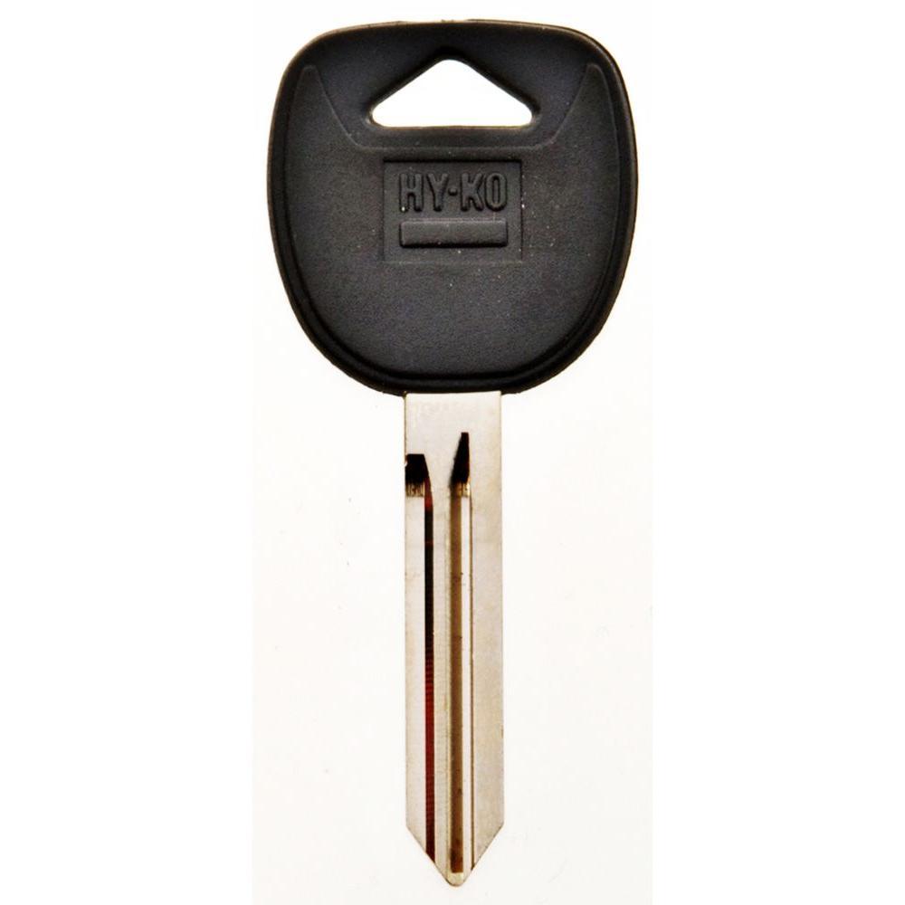 GM Blank Plastic-Head Automobile Key