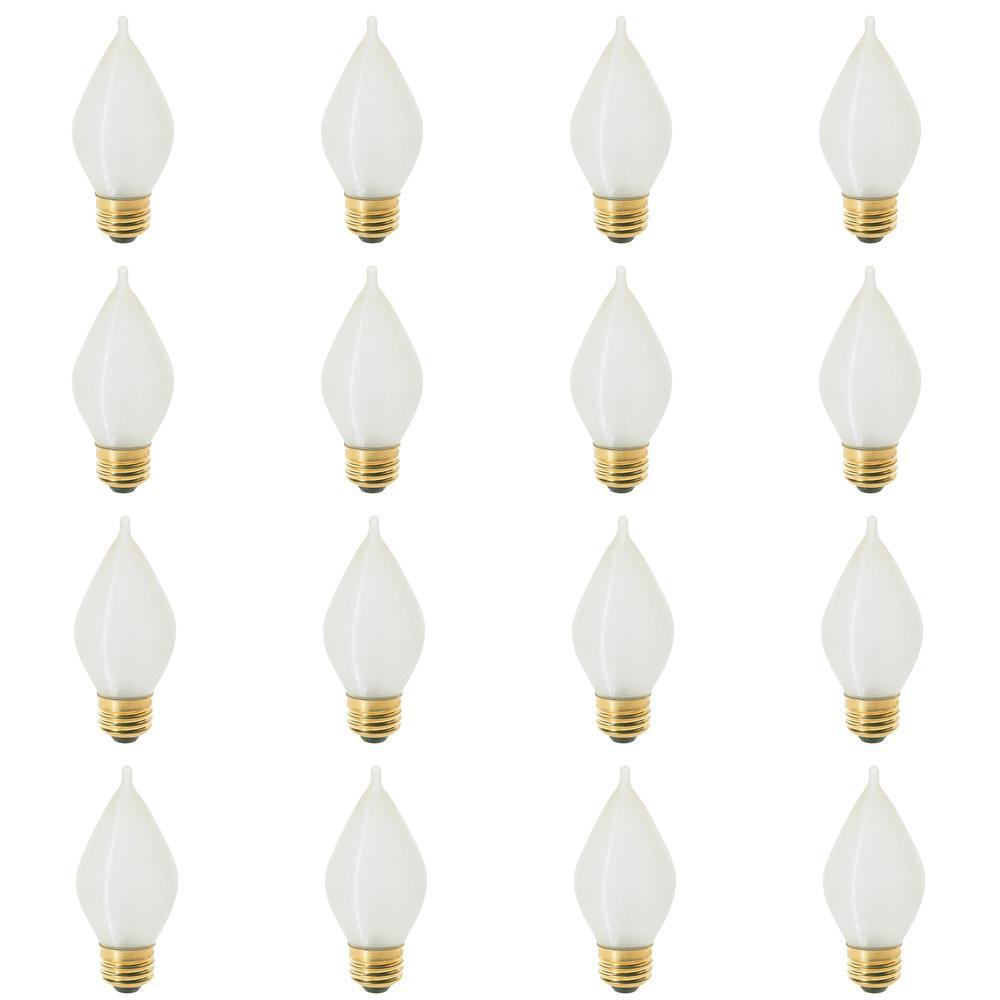 25-Watt Incandescent C15 Light Bulb (12-Pack)