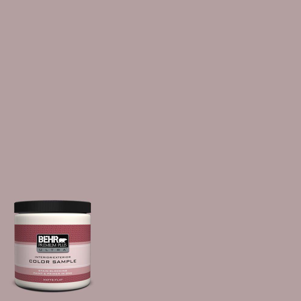 BEHR Premium Plus Ultra 8 oz. Home Decorators Collection Violet Vista Interior/Exterior Paint Sample