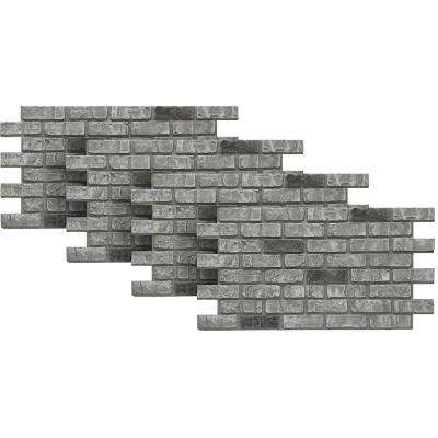 Cape Cod 24 in. x 46-3/8 in. x Faux Used Brick Panel (4-Pack)