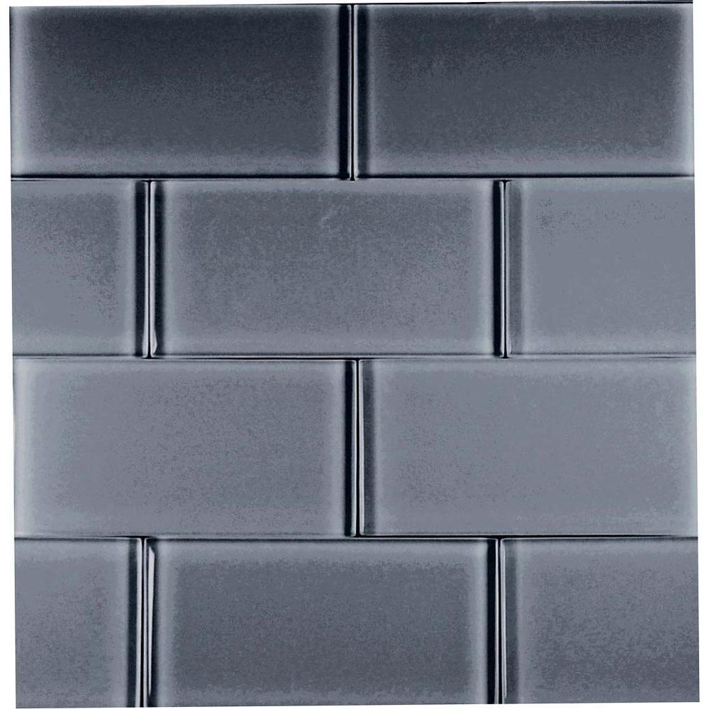 Epoch Architectural Surfaces Dancez Watusi-1443 Glass Subway Tile 3 in. x 6 in. (5 Sq. Ft./Case)-DISCONTINUED