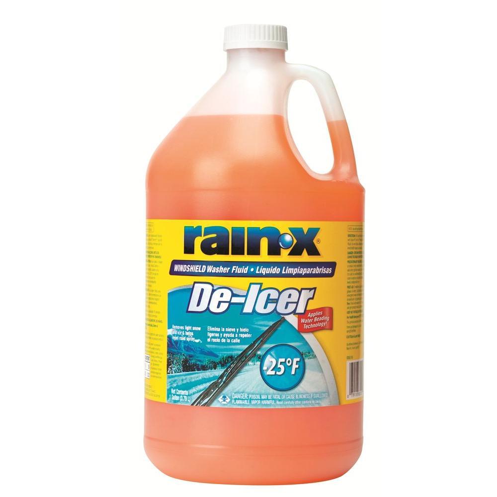 Rain-X 128 fl  oz  -25 Degree De-Icer Windshield Wash-113655 - The