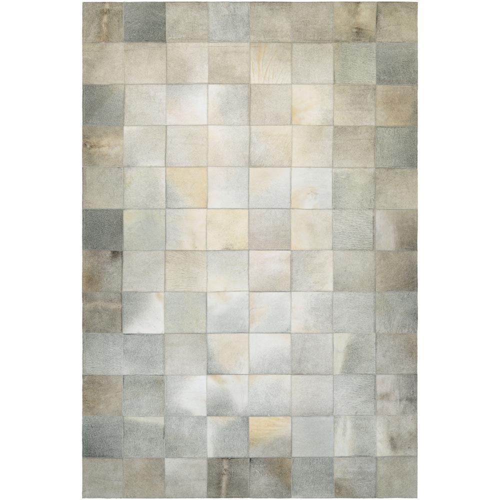 Couristan Chalet Tile Ivory 9 Ft. X 13 Ft. Area Rug