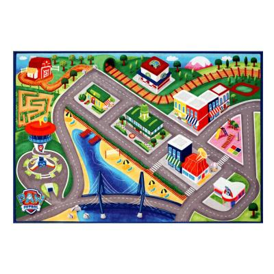 Paw Patrol Multi-Color 5 ft. x 7 ft. Juvenile Indoor Area Rug