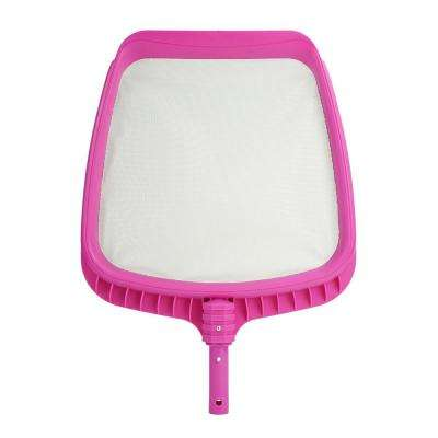 21 in. Fuchsia Pink Deluxe Pro-Series Swimming Pool Mesh Skimmer Head