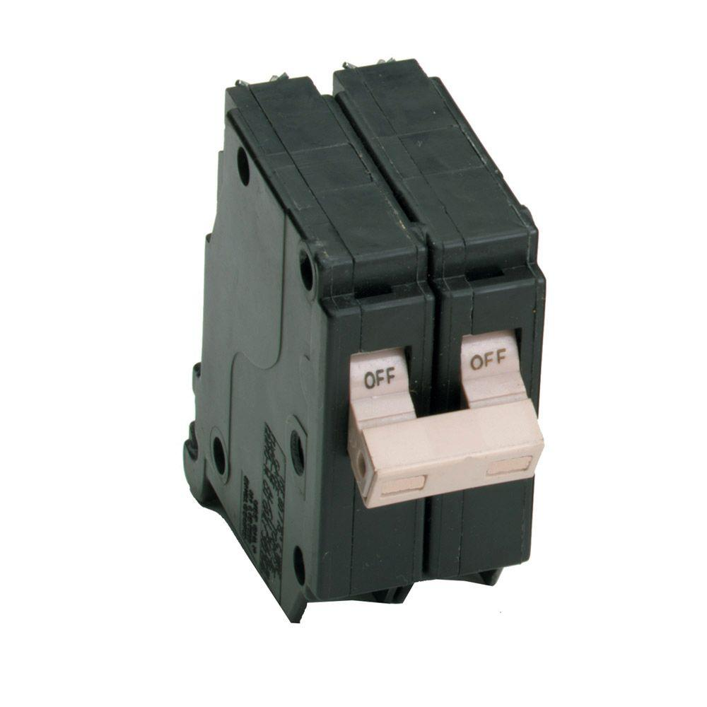 CH250GF 50 Amp Ground Fault 2 Pole 2 CUTLER HAMMER EATON GFI CIRCUIT BREAKERS